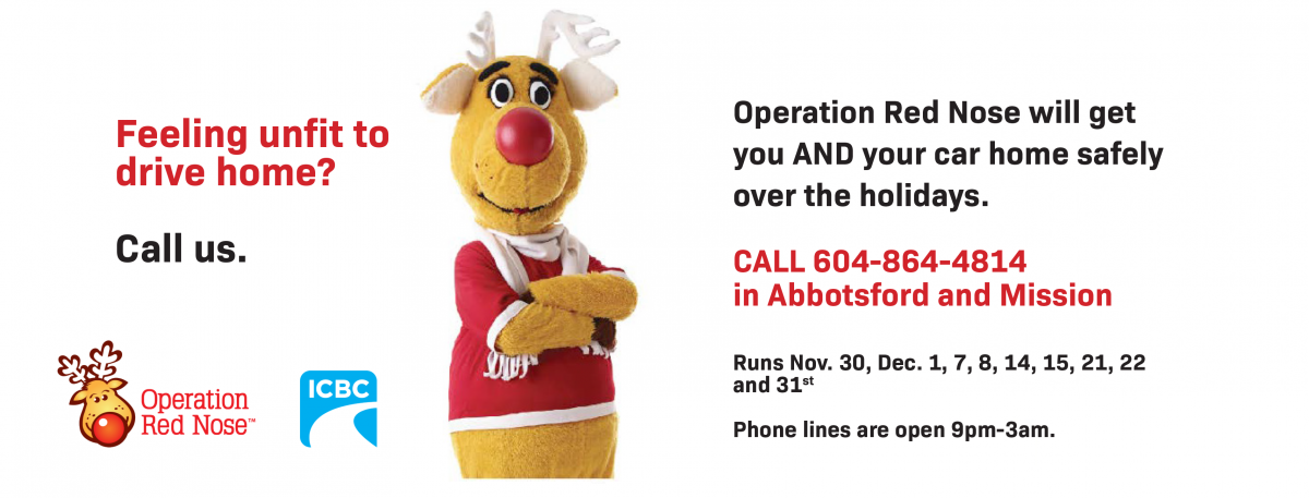 Operation Red Nose | PacificSport Fraser Valley